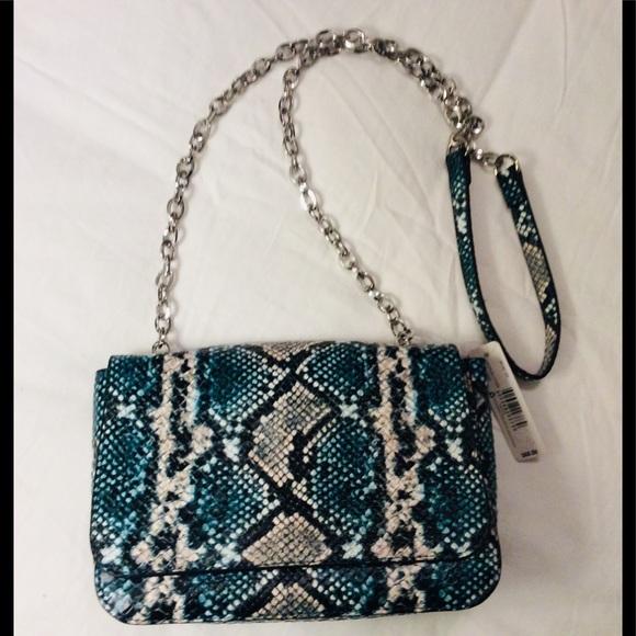 New Directions Handbags - NWT New Directions Snakeskin Crossbody